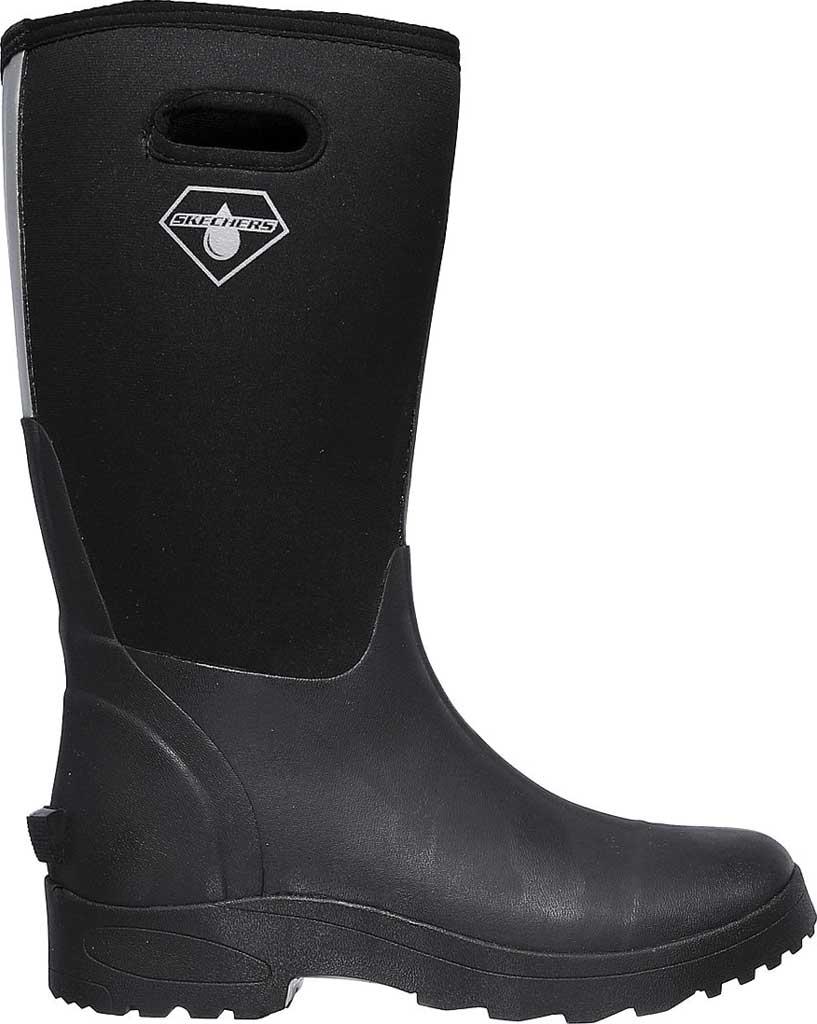 Men's Skechers Work Weirton WP Boot, Black, large, image 2
