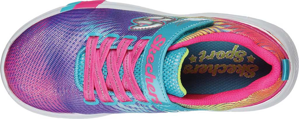 Girls' Skechers Dreamy Lites Sunny Sprints Sneaker, Multi, large, image 4