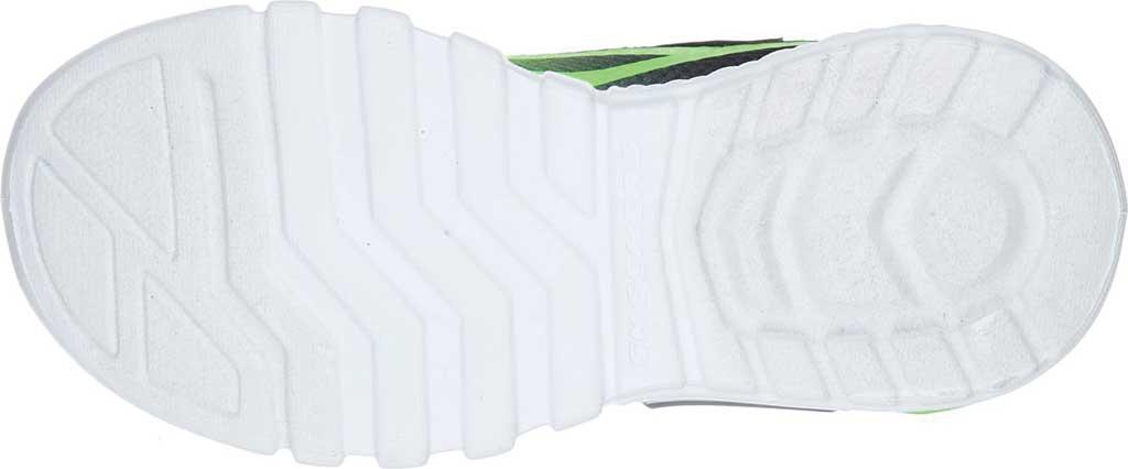 Boys' Skechers S Lights Flex-Glow Dezlo Sneaker, Lime/Black, large, image 5