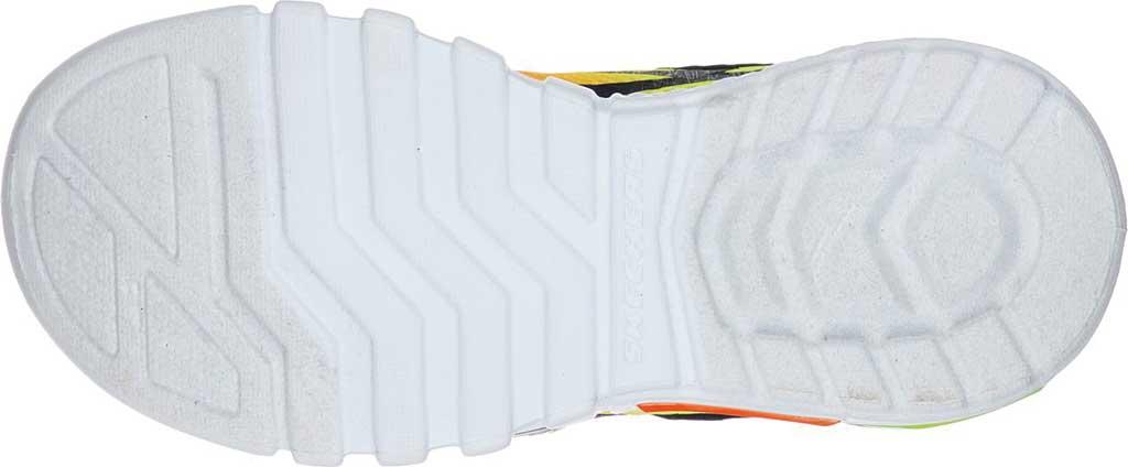 Boys' Skechers S Lights Flex-Glow Dezlo Sneaker, Navy/Orange, large, image 5