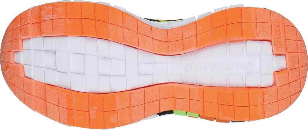 Boys' Skechers Mega-Craft Sneaker, Black/Orange, large, image 5