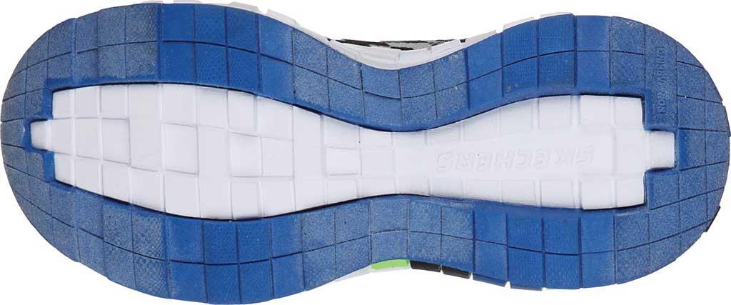 Boys' Skechers Mega-Craft Sneaker, Black/Blue/Lime, large, image 5