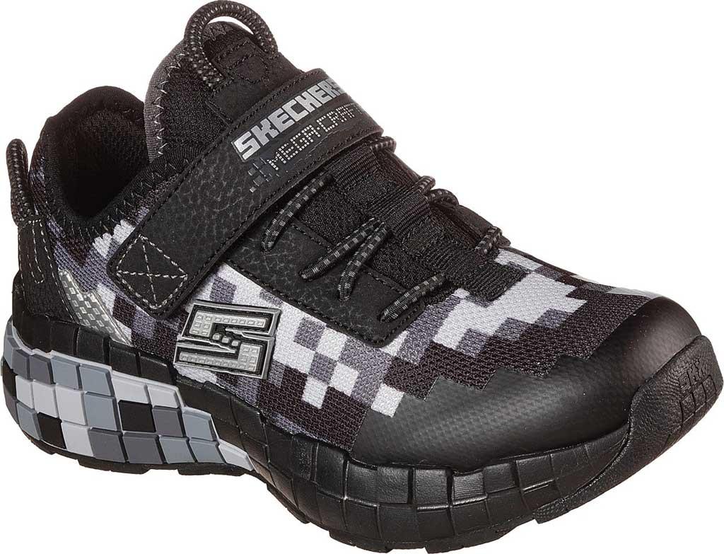 Boys' Skechers Mega-Craft Sneaker, Black/Charcoal, large, image 1