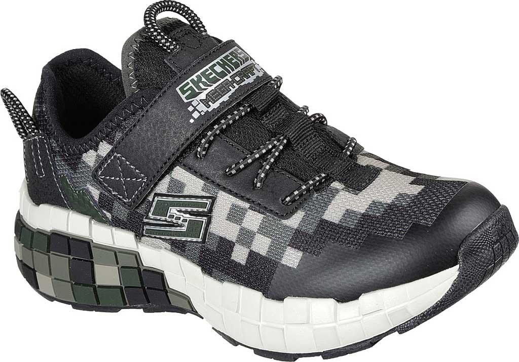 Boys' Skechers Mega-Craft Sneaker, Black/Olive, large, image 1