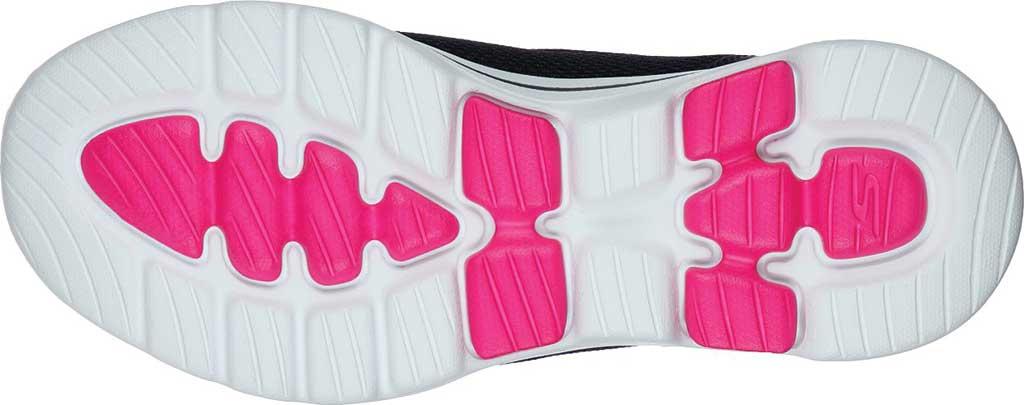 Women's Skechers GOwalk 5 Fantasy Slip-On, Navy/Hot Pink, large, image 5