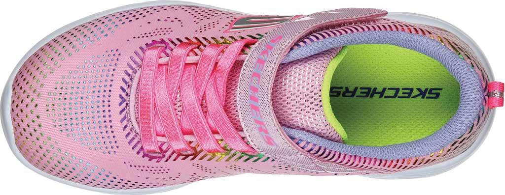 Girls' Skechers GOrun 600 Shimmer Speed Sneaker, Light Pink/Multi, large, image 4