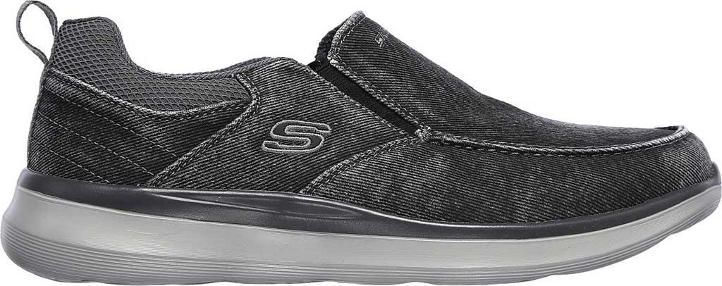 Men's Skechers Delson 2.0 Larwin Slip On, Black, large, image 2
