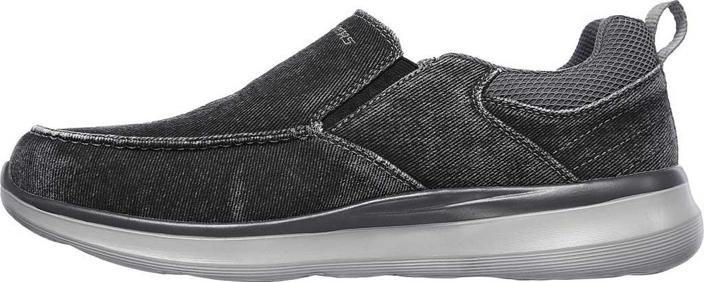 Men's Skechers Delson 2.0 Larwin Slip On, Black, large, image 3