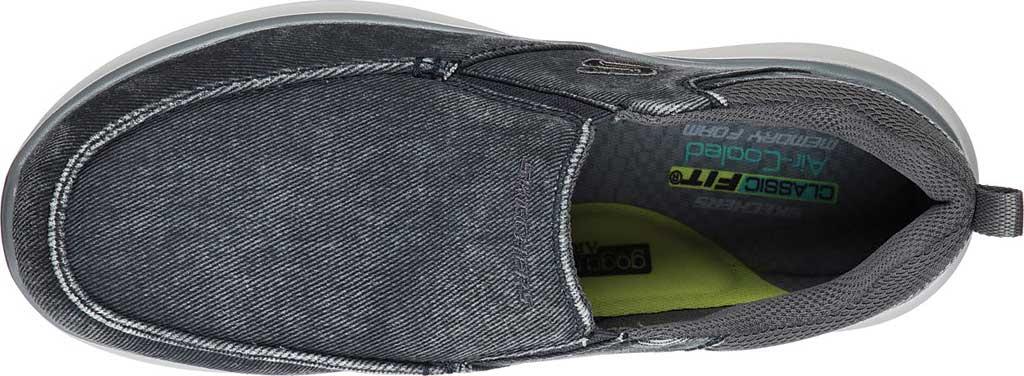 Men's Skechers Delson 2.0 Larwin Slip On, Blue, large, image 4