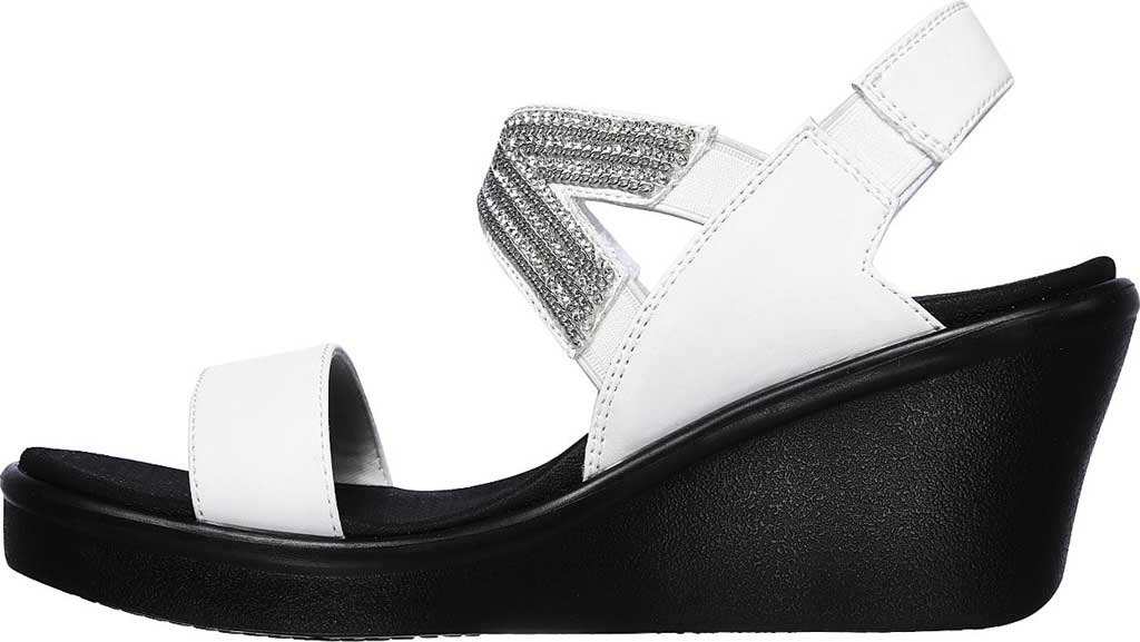 Women's Skechers Rumble On Chart Topper Wedge Sandal, , large, image 3
