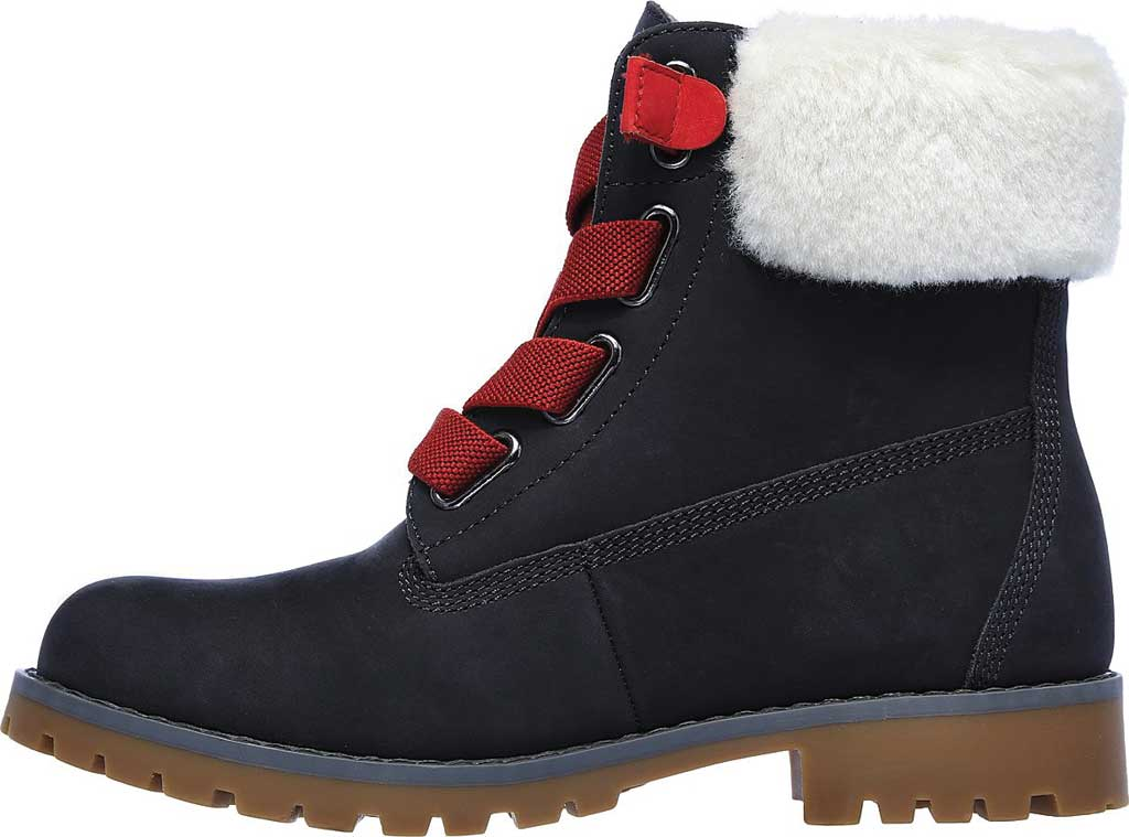 Women's Skechers Cypress Big Plans Ankle Boot, Charcoal, large, image 3