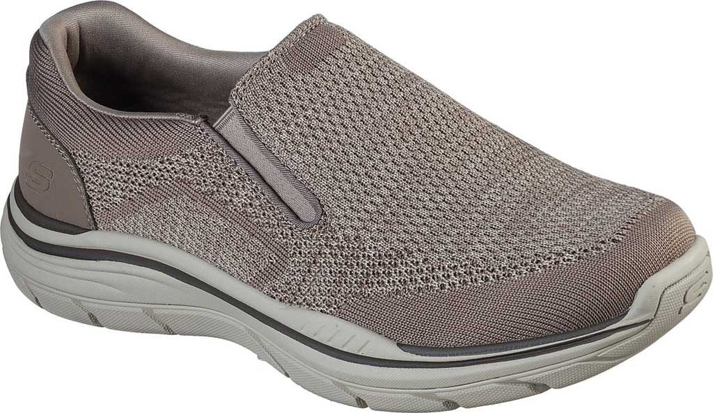 Men's Skechers Relaxed Fit Expected 2.0 Arago Slip-On, Taupe, large, image 1