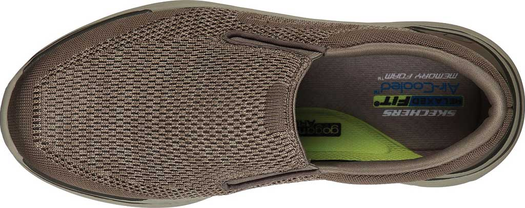 Men's Skechers Relaxed Fit Expected 2.0 Arago Slip-On, Taupe, large, image 4