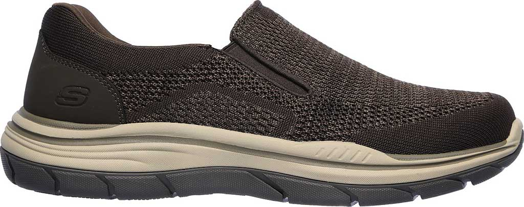 Men's Skechers Relaxed Fit Expected 2.0 Arago Slip-On, Olive/Brown, large, image 2