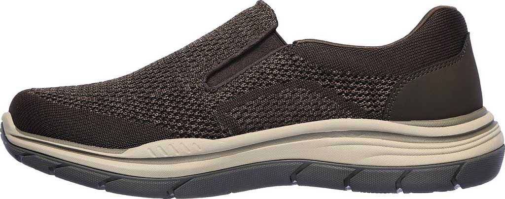 Men's Skechers Relaxed Fit Expected 2.0 Arago Slip-On, Olive/Brown, large, image 3
