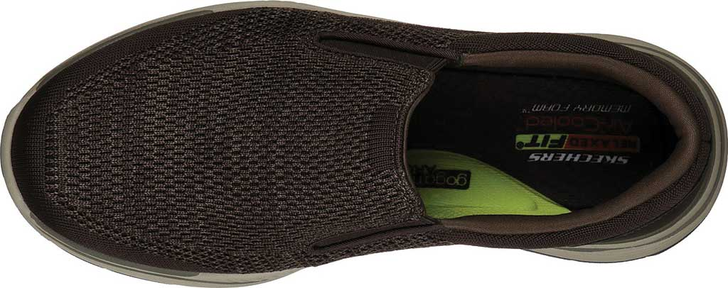 Men's Skechers Relaxed Fit Expected 2.0 Arago Slip-On, Olive/Brown, large, image 4