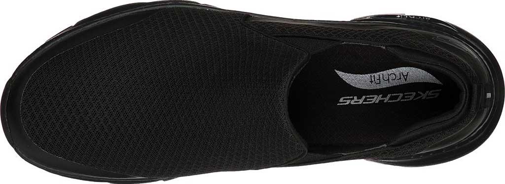 Men's Skechers Arch Fit Banlin Slip-On, Black/Black, large, image 4