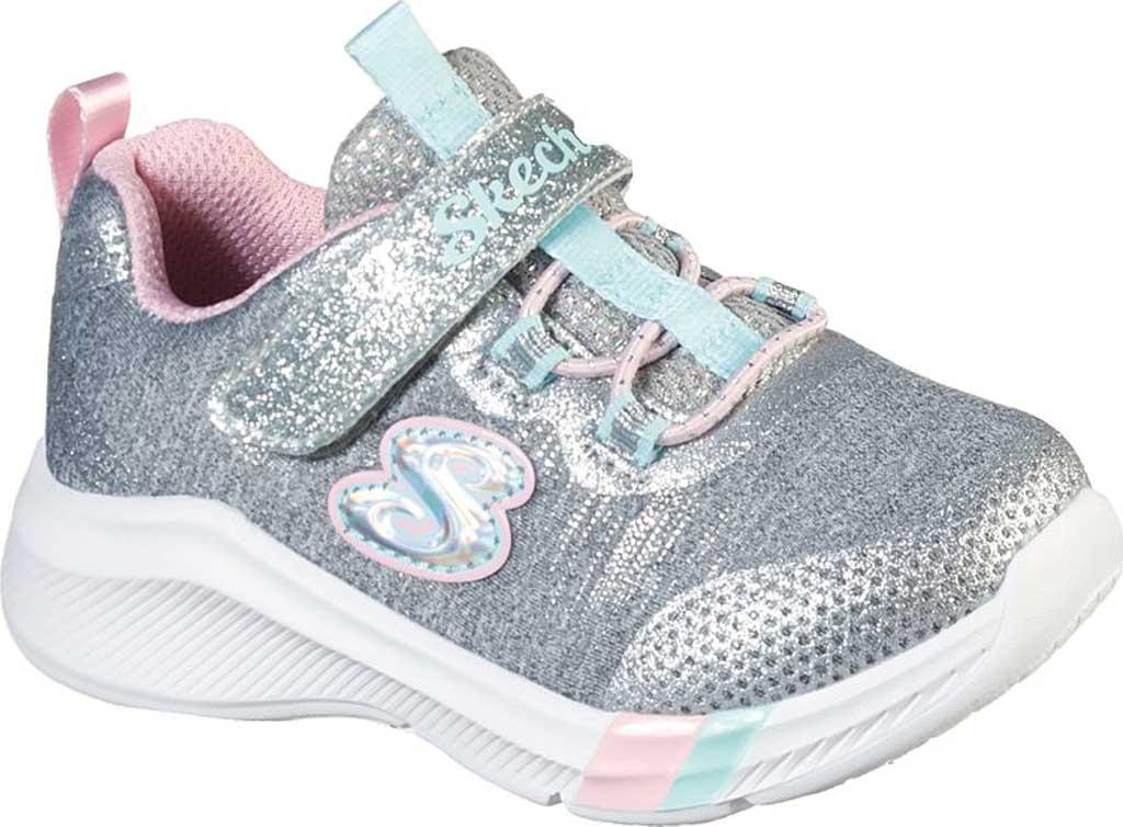 Infant Girls' Skechers Dreamy Lites Sneaker, Light Gray, large, image 1