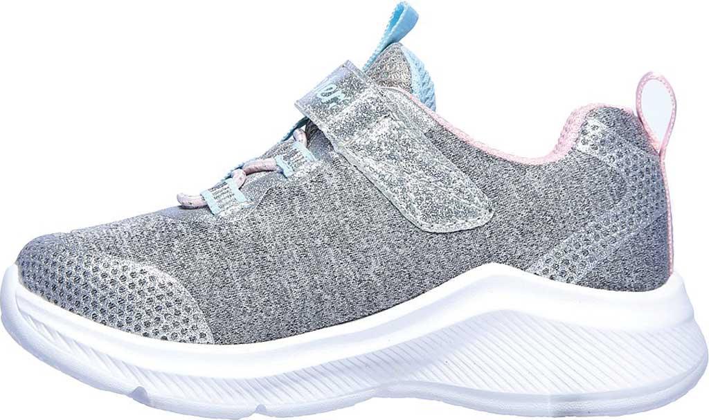 Infant Girls' Skechers Dreamy Lites Sneaker, Light Gray, large, image 3