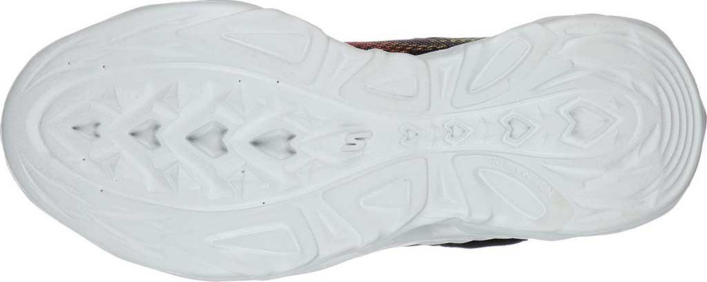 Boys' Skechers S Light Vortex-Flash Sneaker, Black/Red, large, image 5