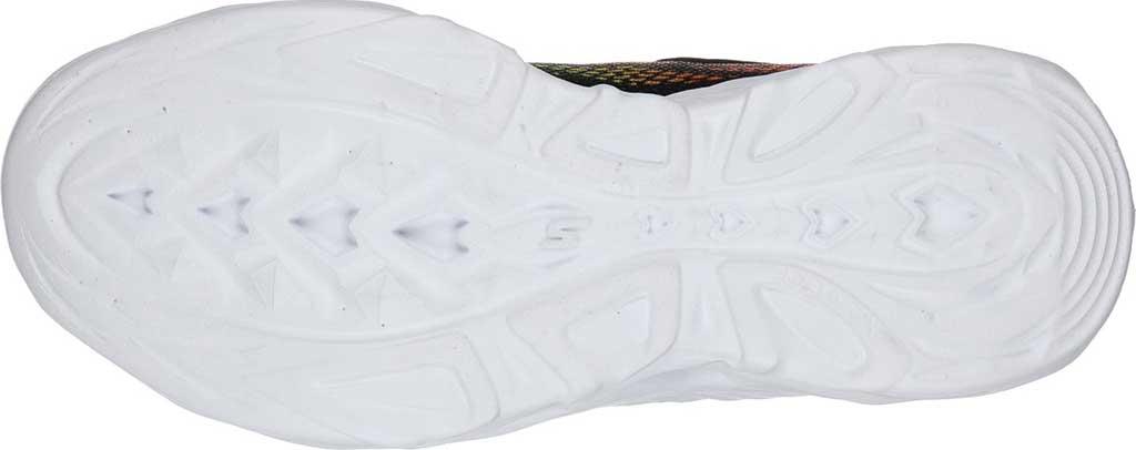 Boys' Skechers S Light Vortex-Flash Sneaker, Black/Lime, large, image 5