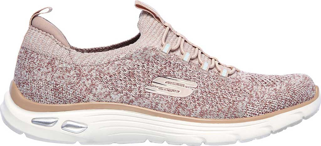 Women's Skechers Relaxed Fit Empire D'Lux Sharp Witted Sneaker, Rose, large, image 2