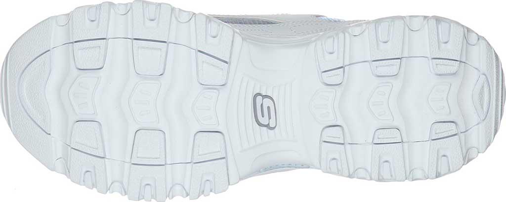 Women's Skechers D'Lites Ocean Dreaming Sneaker, White/Silver, large, image 5
