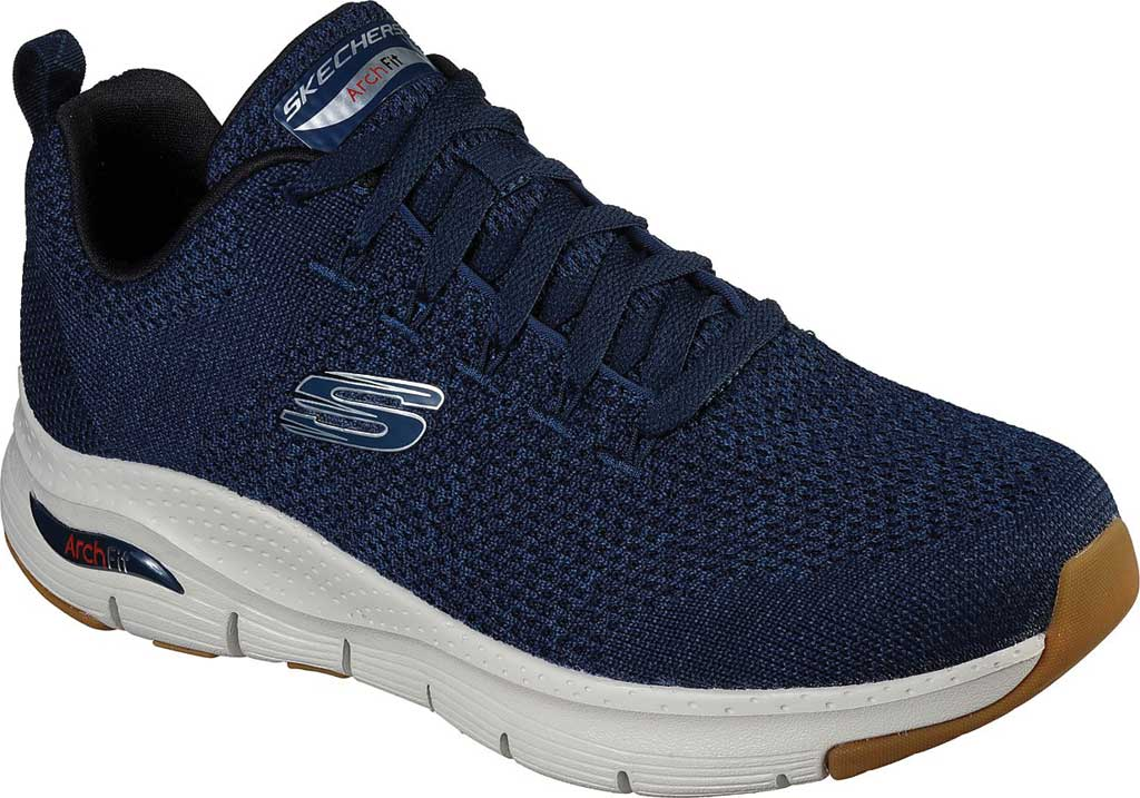 Men's Skechers Arch Fit Paradyme Sneaker, Navy, large, image 1