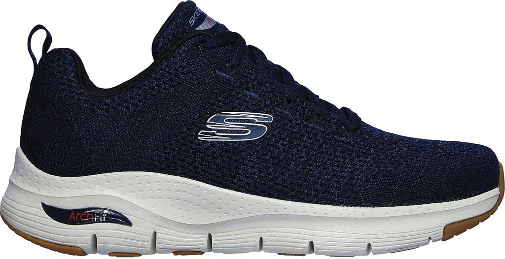 Men's Skechers Arch Fit Paradyme Sneaker, Navy, large, image 2