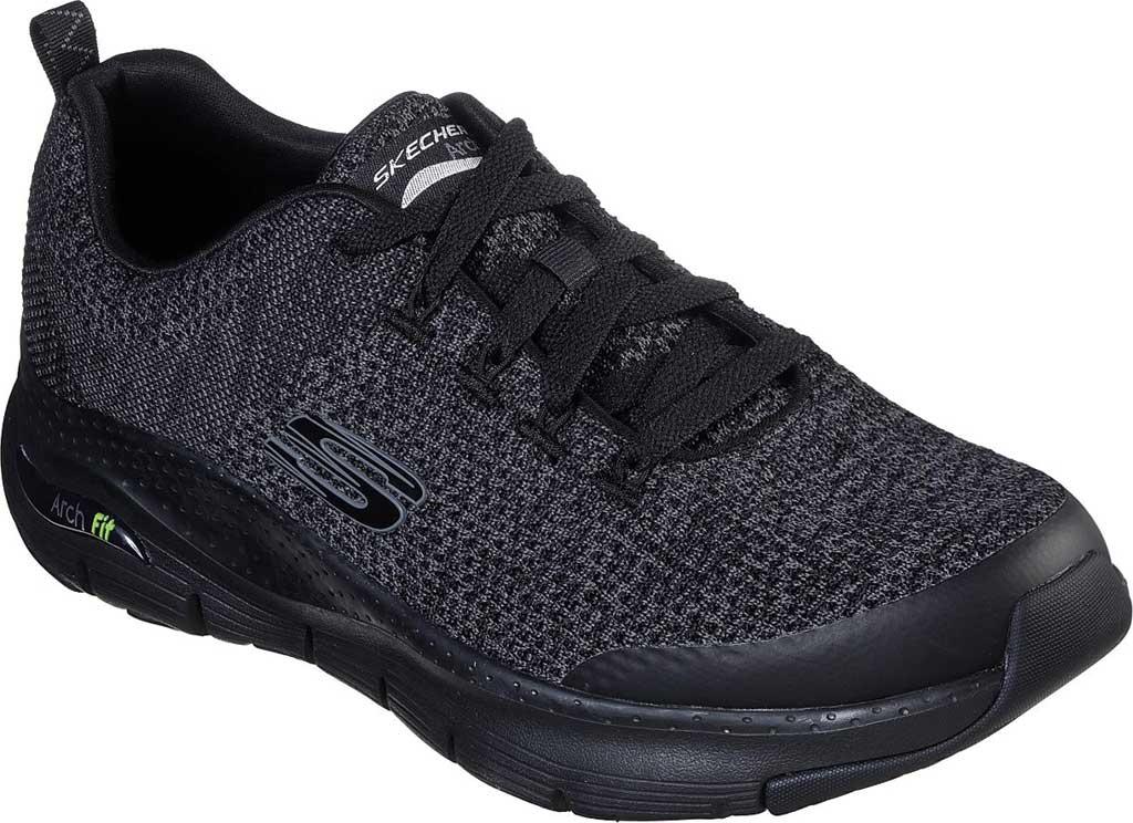 Men's Skechers Arch Fit Paradyme Sneaker, Black/Black, large, image 1