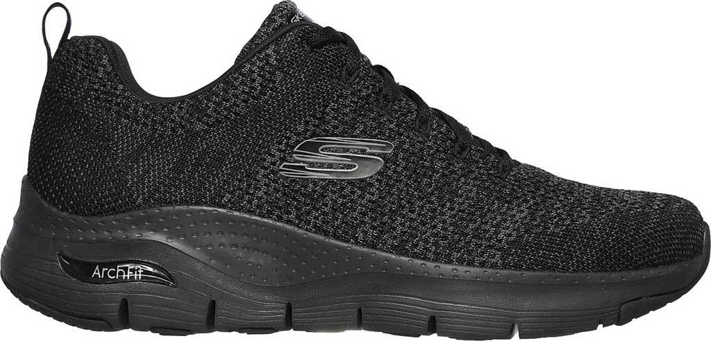 Men's Skechers Arch Fit Paradyme Sneaker, Black/Black, large, image 2