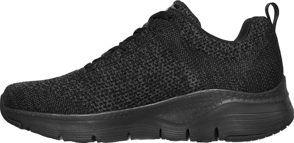 Men's Skechers Arch Fit Paradyme Sneaker, Black/Black, large, image 3