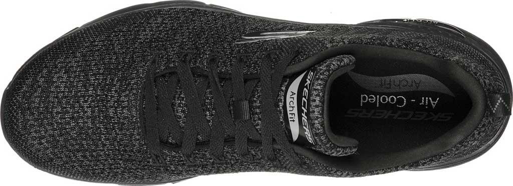 Men's Skechers Arch Fit Paradyme Sneaker, Black/Black, large, image 4