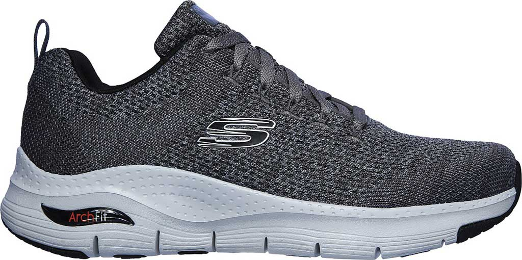 Men's Skechers Arch Fit Paradyme Sneaker, Gray, large, image 2