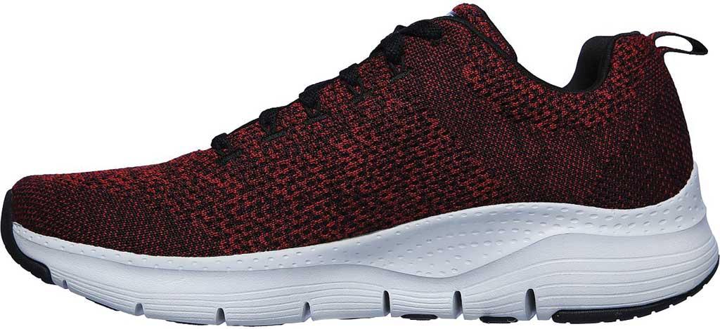 Men's Skechers Arch Fit Paradyme Sneaker, Red/Black, large, image 3
