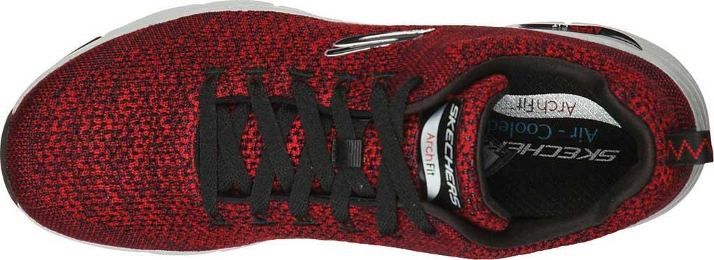 Men's Skechers Arch Fit Paradyme Sneaker, Red/Black, large, image 4