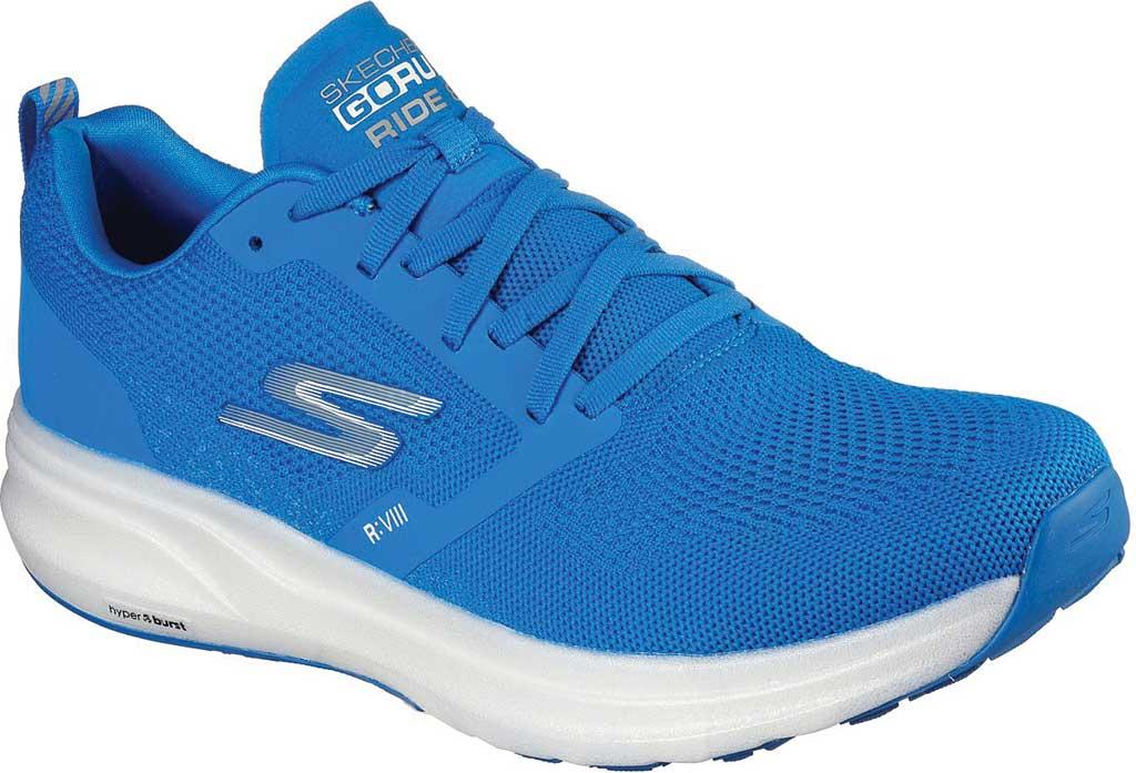 Men's Skechers GOrun Ride 8 Hyper Running Shoe, Blue, large, image 1