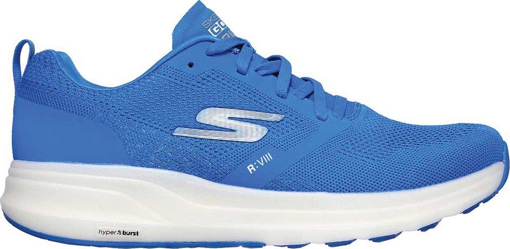 Men's Skechers GOrun Ride 8 Hyper Running Shoe, Blue, large, image 2