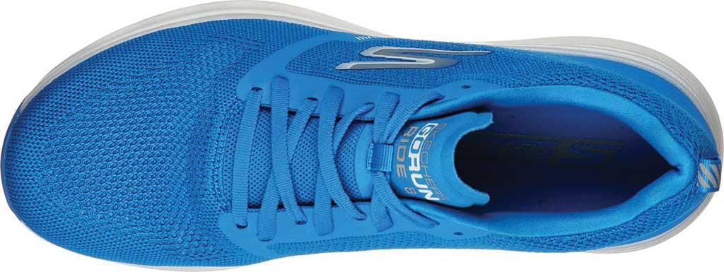 Men's Skechers GOrun Ride 8 Hyper Running Shoe, Blue, large, image 4