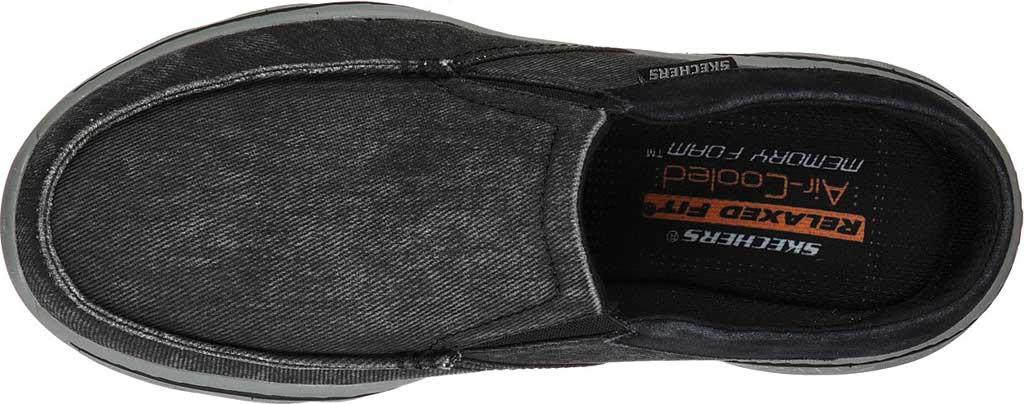 Men's Skechers Relaxed Fit Creston Backlot Clog, Black, large, image 4