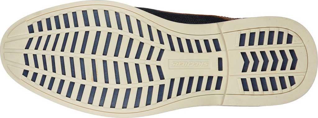 Men's Skechers Bregman Rito Oxford, Navy/Tan, large, image 5