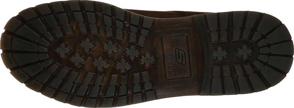 Men's Skechers Alley Cats Mesago Oxford, Chocolate Dark Brown, large, image 5