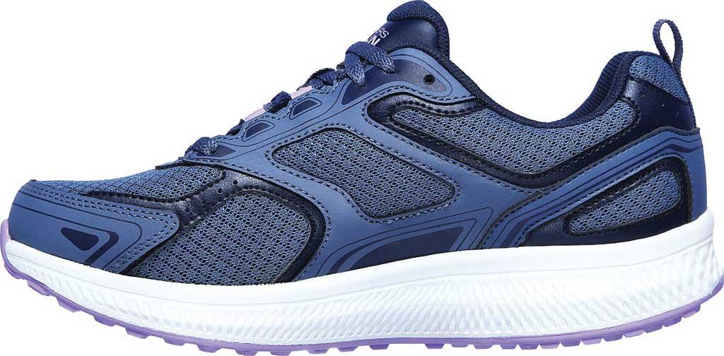 Women's Skechers GOrun Consistent Running Shoe, Blue/Purple, large, image 3