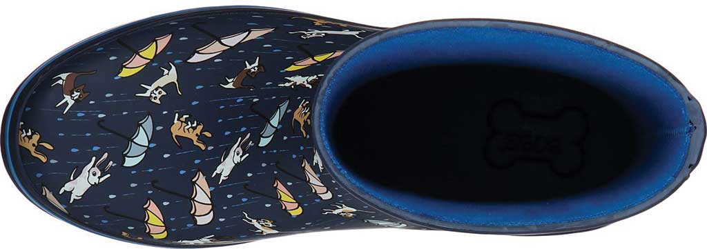 Women's Skechers BOBS Rain Check Puddle Paws Rain Boot, Navy/Multi, large, image 4
