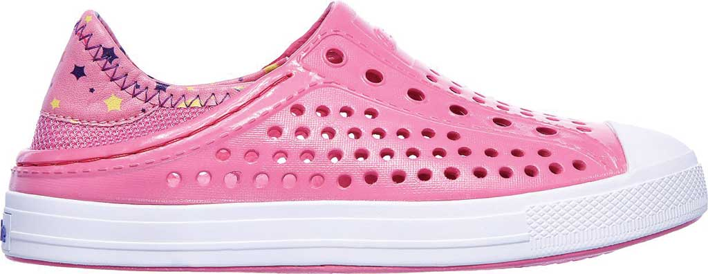 Girls' Skechers Guzman Steps Sandcastle Dreams Water Shoe, Hot Pink, large, image 2