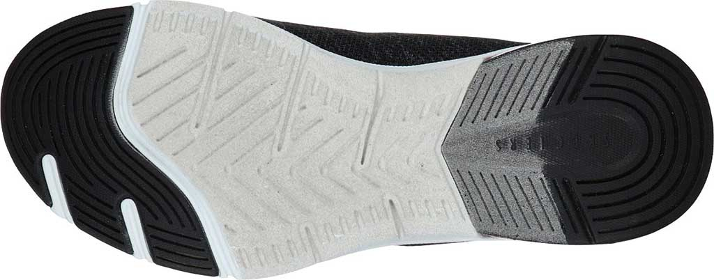 Women's Skechers Relaxed Fit Skech-Air Edge Brite Times Sneaker, Black/Aqua, large, image 5