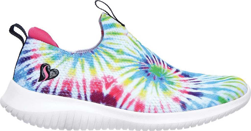 Girls' Skechers Ultra Flex Slip-on Sneaker, Multi, large, image 2