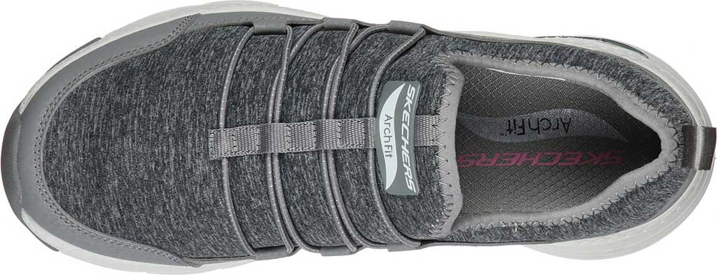 Women's Skechers Arch Fit Rainbow View Slip On, Gray, large, image 4