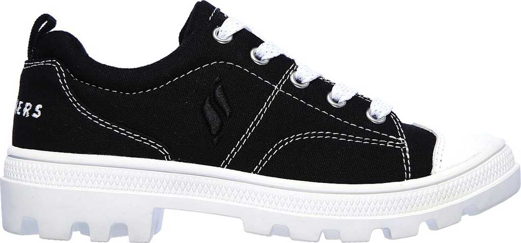 Girls' Skechers Roadies True Roots Sneaker, Black, large, image 2