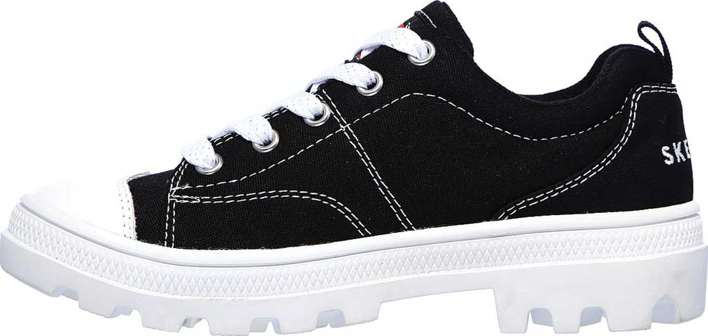 Girls' Skechers Roadies True Roots Sneaker, Black, large, image 3